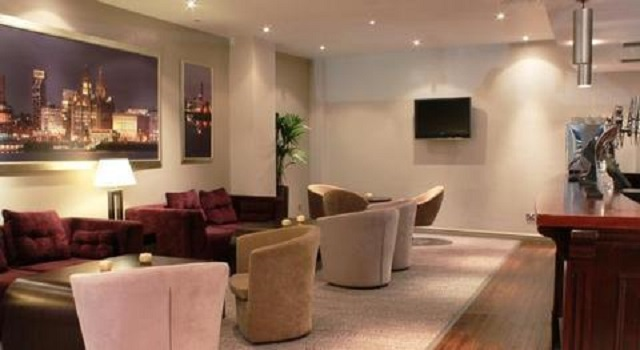 Atlantic Tower Hotel Christmas Party L3. Mordern, spacious seating area