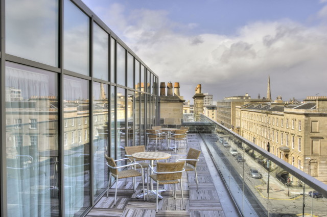 Blythswood Square Hotel Summer Party G2 terrace for venues outside space