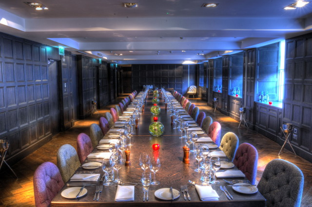 Blythswood Square Hotel Summer Party G2 dining area for meeting