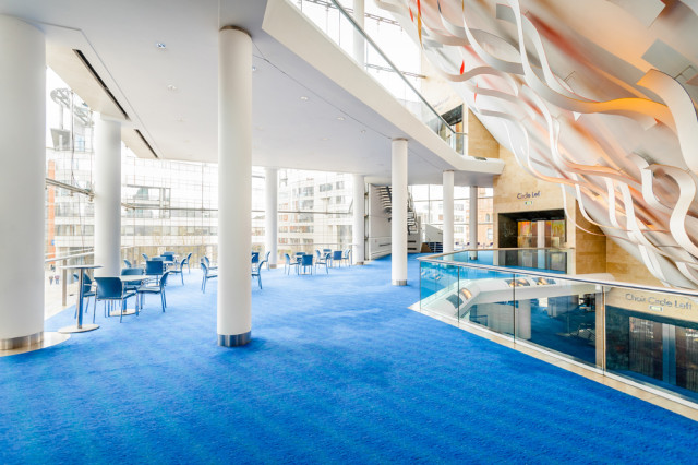natural daylight breakout space Bridgewater Hall Venue Hire, M2