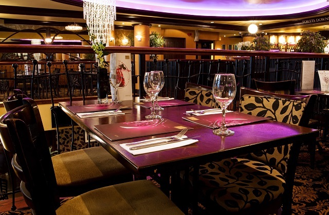 Table set up, ready for guests. Henrys Covent Garden Venue Hire WC2