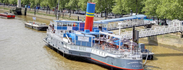 Tattershall Castle River Boat Summer Party SW1