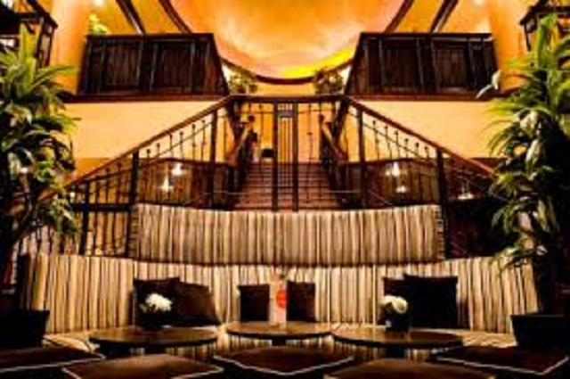 Henrys Covent Garden Venue Hire WC2. Staircase of restaurant.
