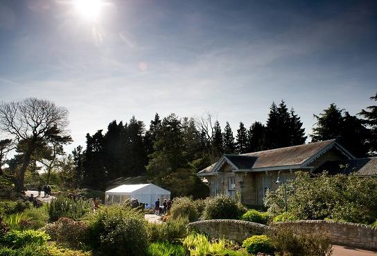 Royal Botanic Edinburgh Summer Party EH3 outside space
