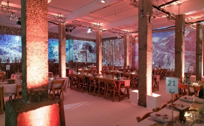 Studio Spaces Christmas Party E1, festive dinner, apres ski, festive decorations, wall art