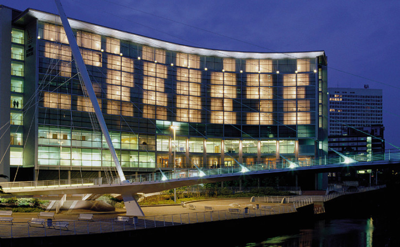 Exterior view of Lowry Hotel Venue Hire M3