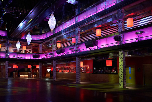 Building Six Venue Hire SE10, vip balcony space, uplighting