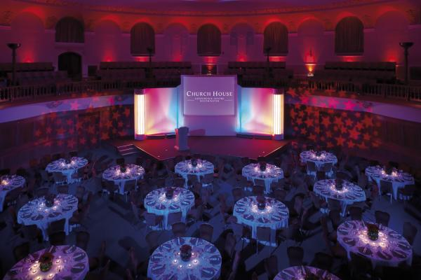 Church House Venue Hire SW1, conferencing event, presentation