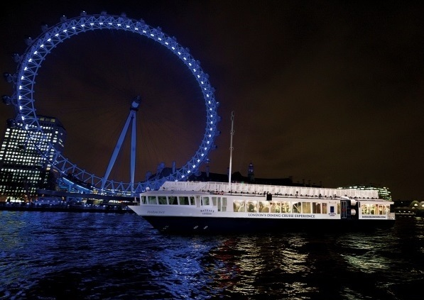 Bateaux London Venue Hire WC2, outside of the boat by the london eye