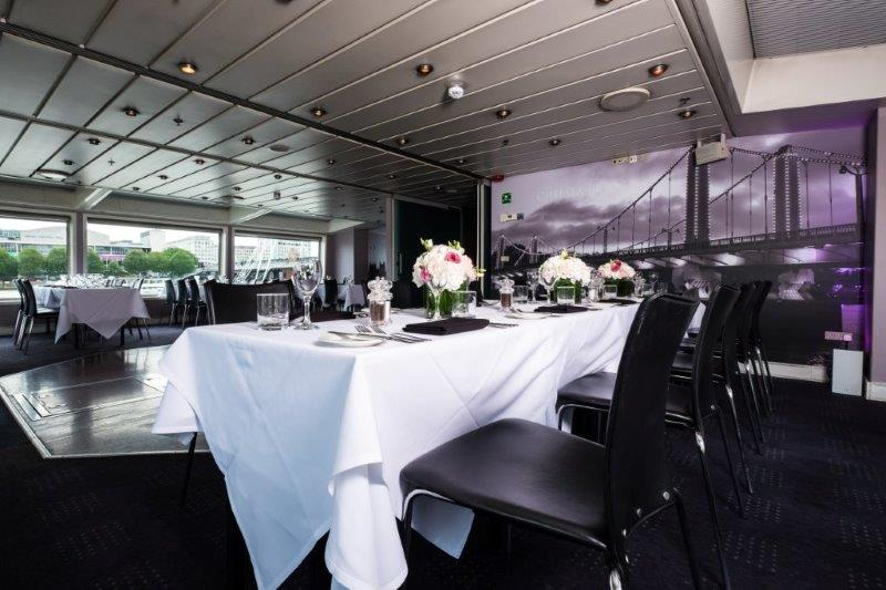 Bateaux London Venue Hire WC2, private dining room