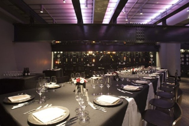 Churchill War Rooms Venue Hire SW1, corporate event space, seated dinner, banqueting