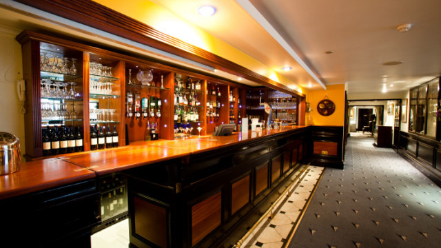 Side view of the Club Bar Little Ship Club Venue Hire EC4
