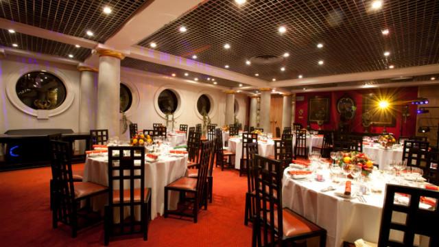 Livery Hall dinner set up Founder's Hall Venue Hire EC1