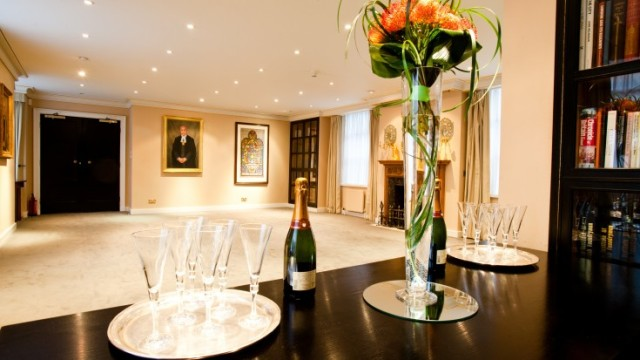 Parlour Room drinks reception Founder's Hall Venue Hire EC1