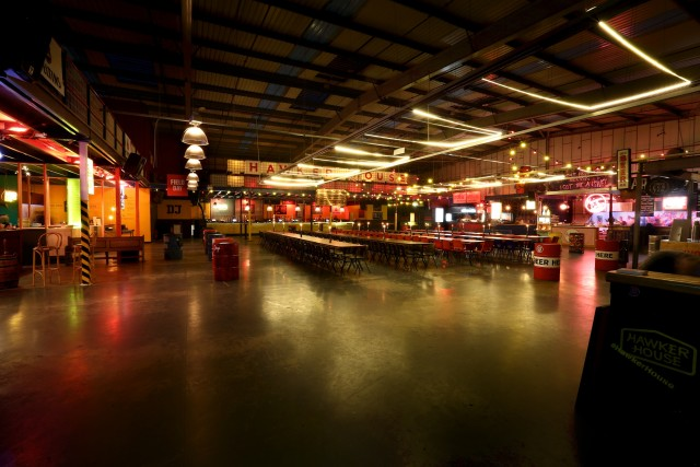 Big Room open plan view Hawker House Venue Hire SE16