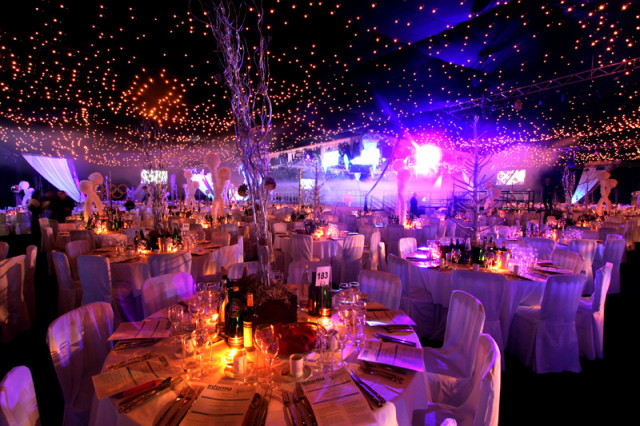 Finsbury Square Apres Ski Christmas Party EC2. Finsbury Square is perfect for smaller companies or groups that want to enjoy the full atmosphere of a beautifully themed Christmas Party