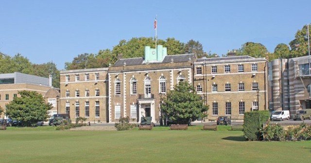 Exterior view of the HAC Armoury House EC1