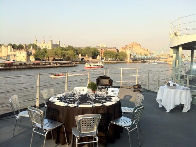 HMS Belfast Summer Party Venue SE1