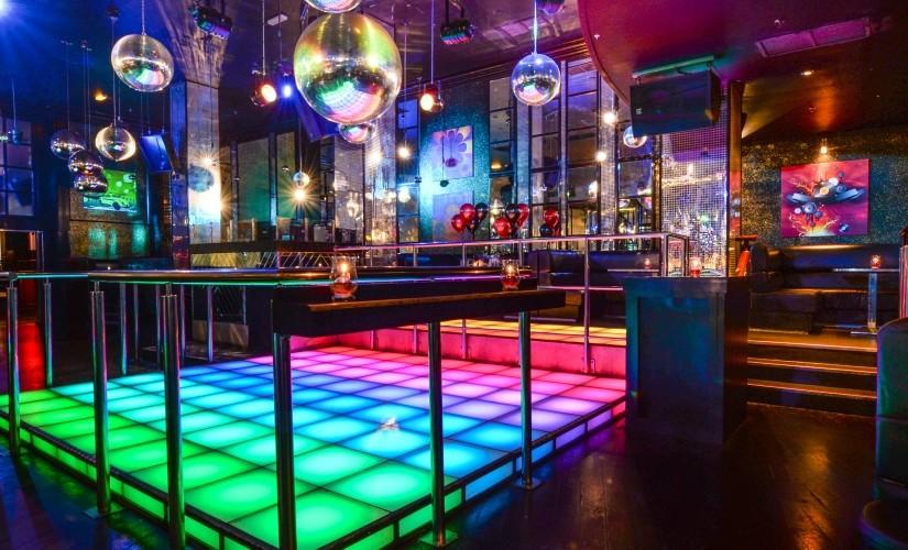 Tiger Tiger Manchester Venue Hire M4, disco lit dancefloor