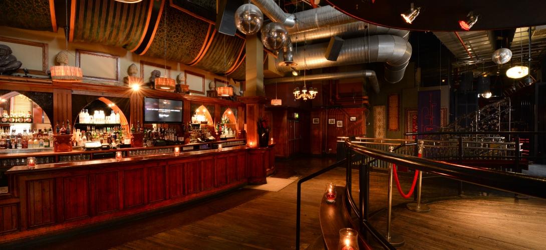 Tiger Tiger Manchester Venue Hire M4, private bar area