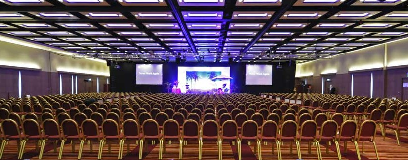 ILEC Conference Centre Venue Hire SW6, huge ballroom set up conference style