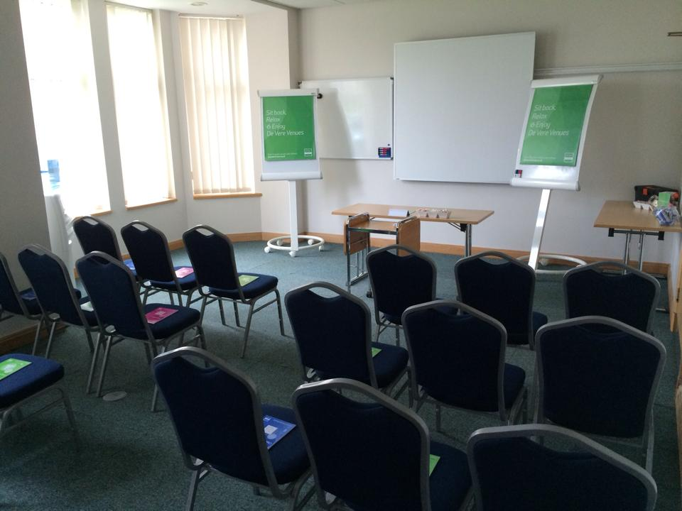 Cheadle House Venue Hire SK8, private room set up conference style