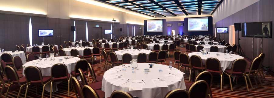 ILEC Conference Centre Venue Hire SW6, cabaret set up