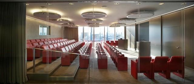 Blue Fin Venue Hire SE1, cinema room for meetings