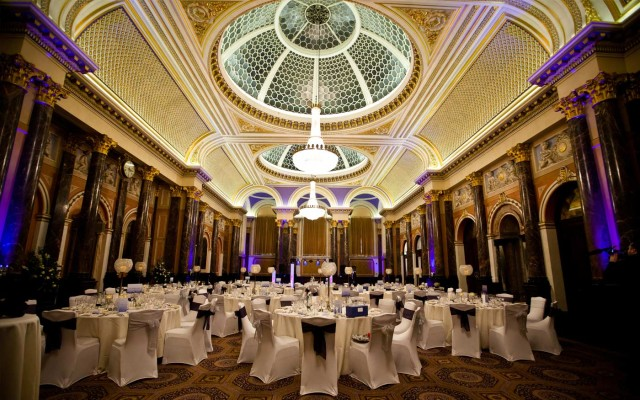 Gibson Hall Venue Hire EC2, large event space with high ceilings,