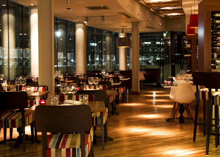 Rocket Canary Wharf Christmas Party E1, private dining tables