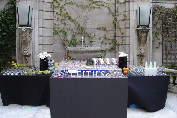 Dartmouth House Summer Party Venue W1, outside bar, stunning building features