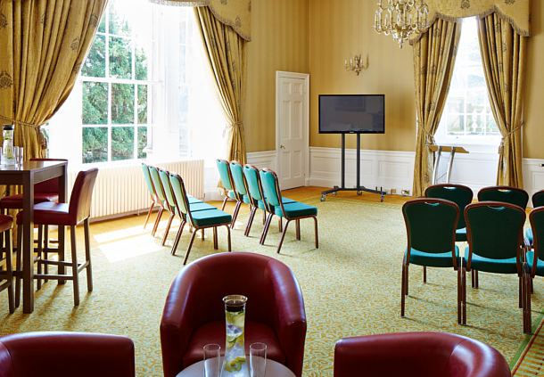 Dalmahoy Hotel and Country Club Summer Party EH27, meeting room, plenty of natural daylight