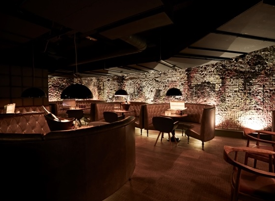 Forge Venue Hire EC3. The Lounge is a classy retreat from the madness of the City.