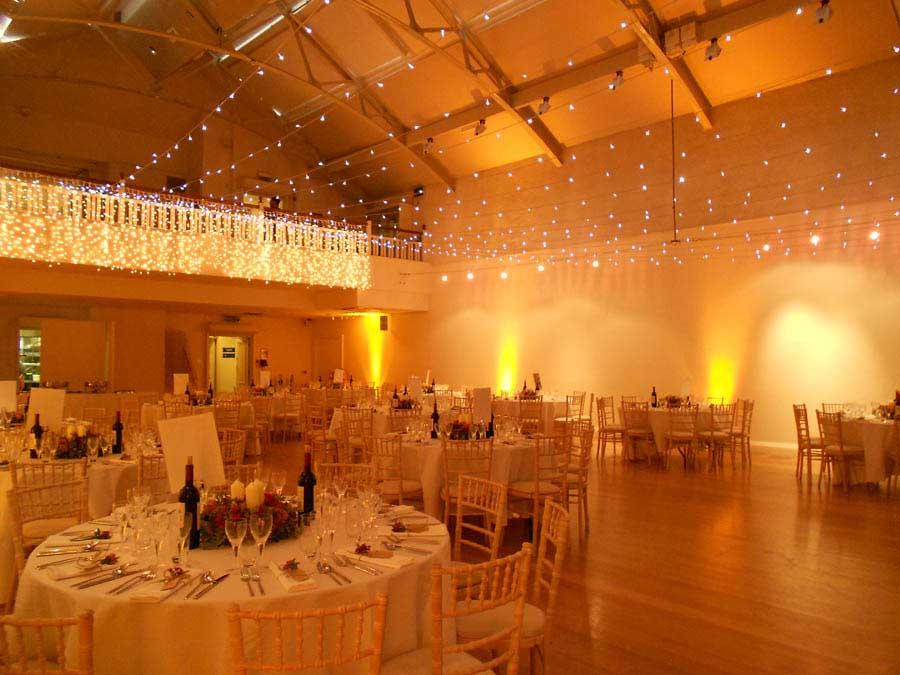 Hellenic Centre London Venue Hire W1, fairy lights in private dinner