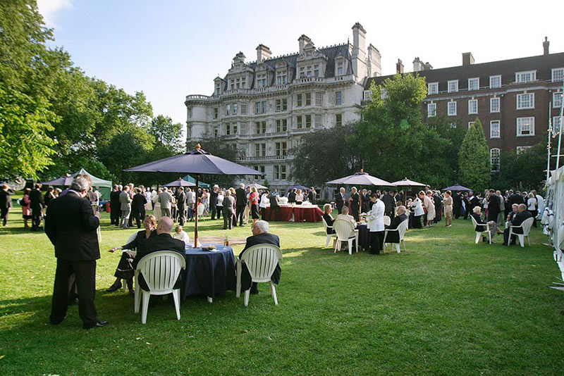 Inner Temple London Summer Party EC4, outdoor space with guests