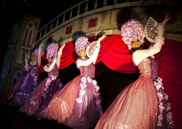 Italian Masquerade Shared Christmas Party KT13, live entertainment acts