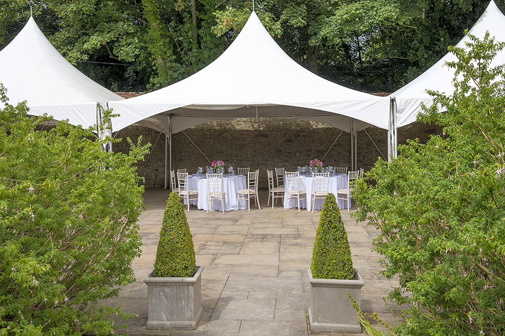 Loseley Park Summer Party GU3, marque with table