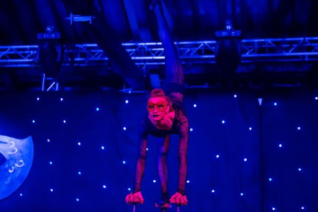 Masquerade Ball Swindon Christmas Party SN2 acrobats, live entertainment included in package