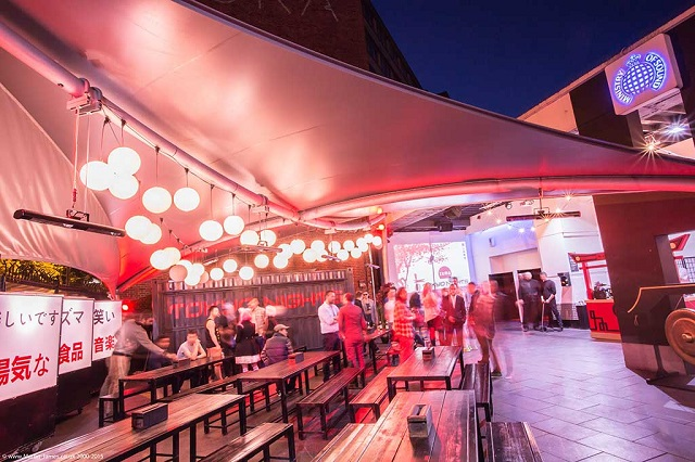 Outdoor space. Ministry Of Sound Summer Party SE1