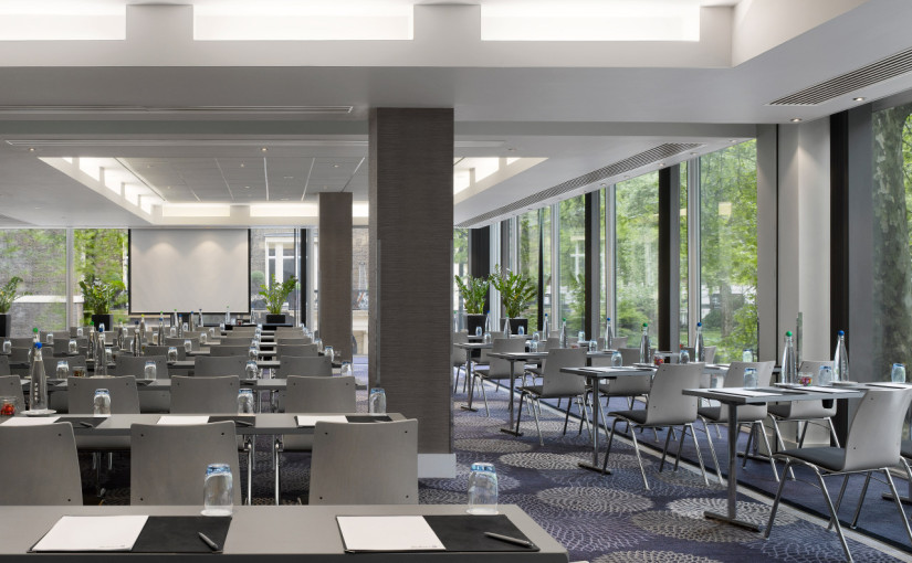 Radisson Blu Portman Venue Hire W1, conference with stunning views