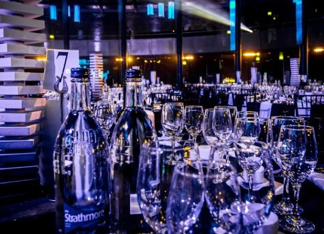 Roundhouse Christmas Party NW1, drinks reception set up, large flexible event space