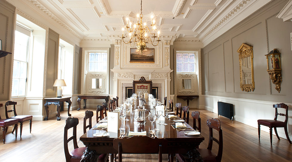 Skinners Hall London Venue Hire EC4, private room set up in boardroom