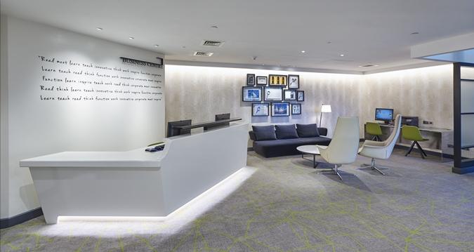 Hilton Heathrow Terminal 4 Venue Hire TW6, reception space