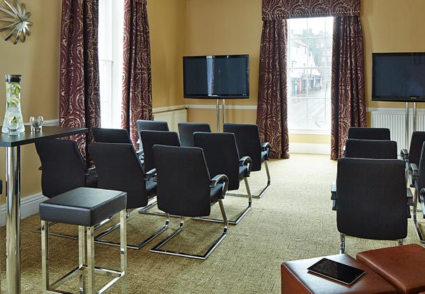 Durham Marriott Hotel Venue Hire DH1, theatre style seating, screens,natural daylight