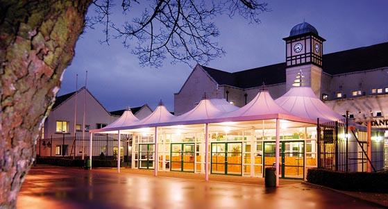 Haydock Park Racecourse Venue Hire WA12, conservatory, exterior of the venue