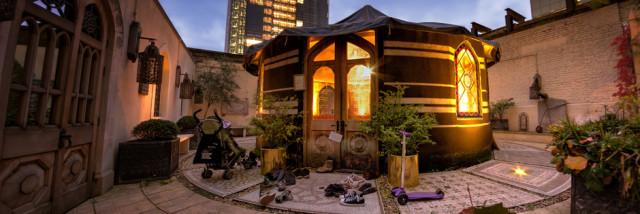 78 Bishopsgate Venue Hire EC2, tent, outside space