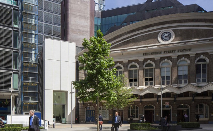 Conveniently located next door to fenchchurch street station of 8 Fenchurch Place Venue Hire EC3