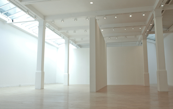 Gallery 1 with large open space and white walls with lots of natural daylight perfect for an exhibition Whitechapel Gallery Venue Hire E1