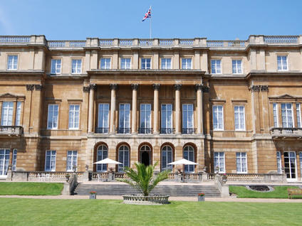 Lancaster House Summer Party, stunning venue, outside space