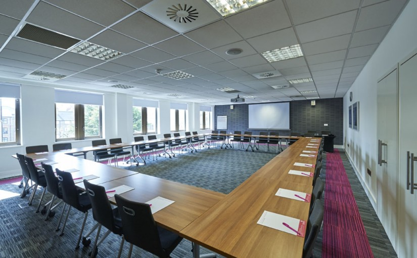 Illuminate Suite in u-shape set up for a meeting with natural daylight Prospero House Venue Hire SE1